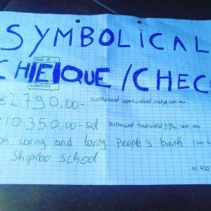 Pachamama shipibo school donation